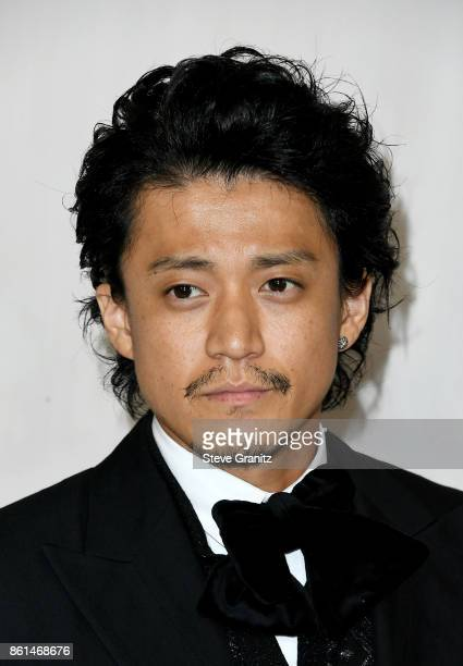 Actor Shun Oguri at Bottega Veneta Hosts Hammer Museum Gala In The Garden on October 14 2017 in Westwood California