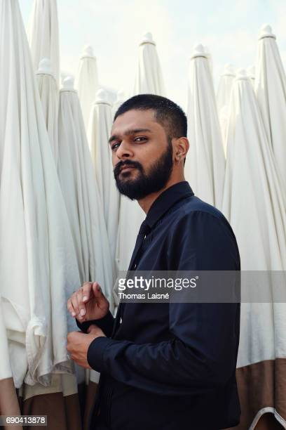 Actor Siddharth Dhananjay is photographed on May 25 2017 in Cannes France