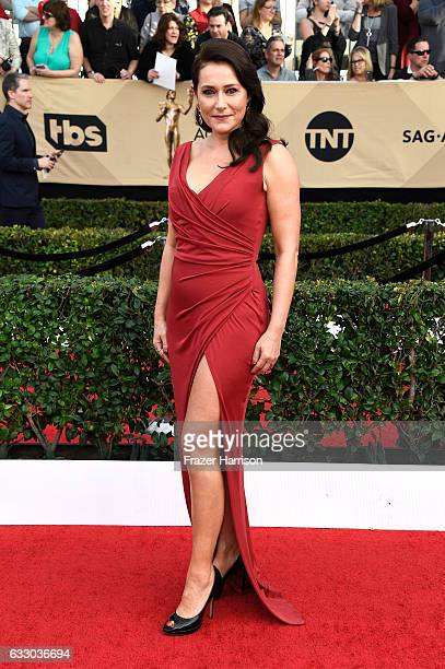 Actor Sidse Babett Knudsen attends The 23rd Annual Screen Actors Guild Awards at The Shrine Auditorium on January 29 2017 in Los Angeles California...