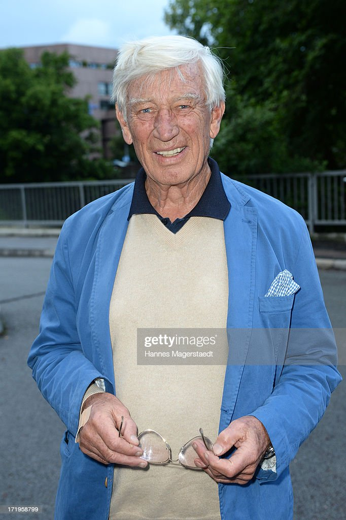 Actor Siegfried Rauch attends the Audi Director's Cut during the Munich Film Festival 2013 on June 29, 2013 in Munich, Germany.
