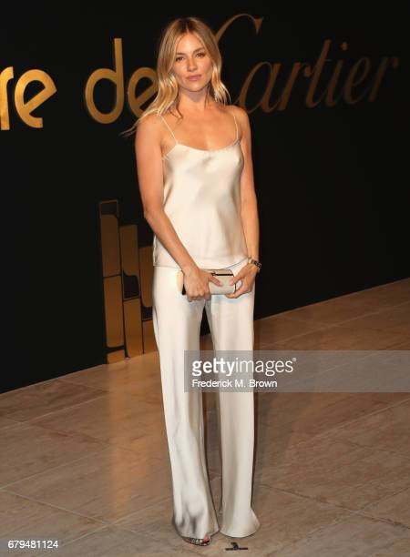 Actor Sienna Miller attends Panthere De Cartier Party In LA at Milk Studios on May 5 2017 in Los Angeles California