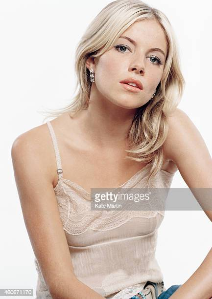 Actor Sienna Miller is photographed on March 18 2009 in London England