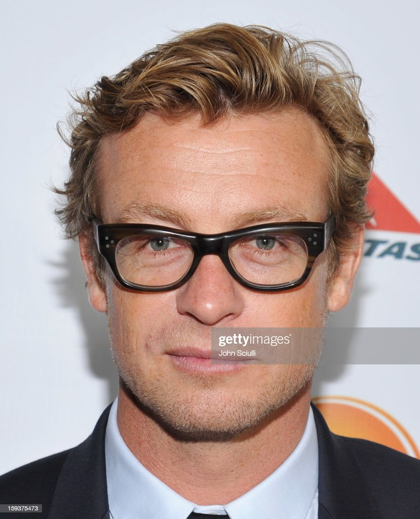 Actor Simon Baker arrives at the 2013 G'Day USA Los Angeles Black Tie Gala at JW Marriott Los Angeles at L.A. LIVE on January 12, 2013 in Los Angeles, California.