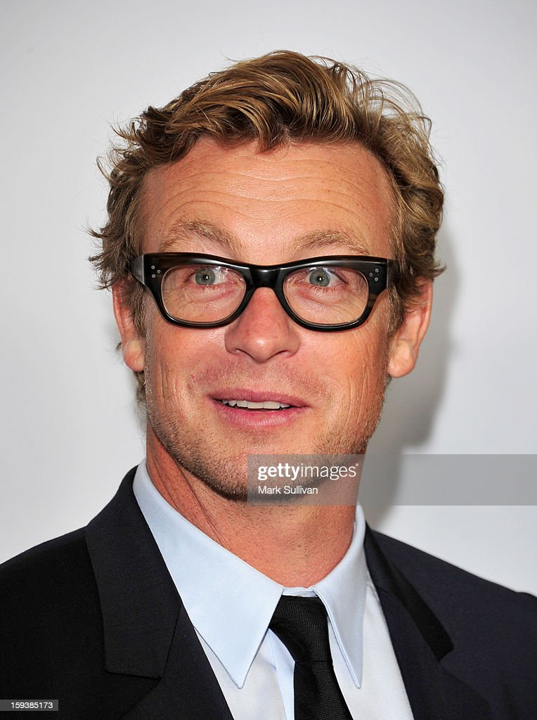 Actor Simon Baker arrives for the G'Day USA Black Tie Gala held at at the JW Marriot at LA Live on January 12, 2013 in Los Angeles, California.