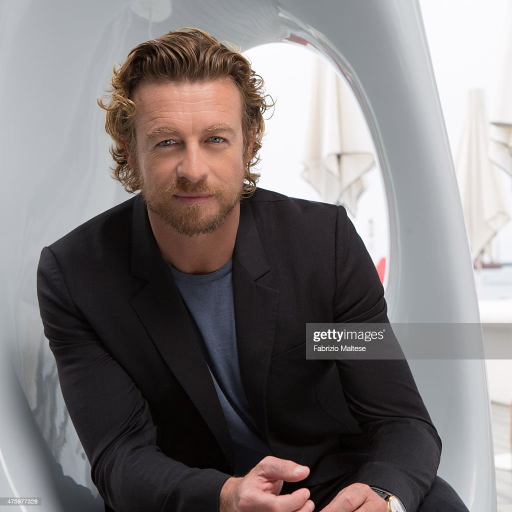 Actor <a gi-track='captionPersonalityLinkClicked' href=/galleries/search?phrase=Simon+Baker&family=editorial&specificpeople=206176 ng-click='$event.stopPropagation()'>Simon Baker</a> is photographed on May 14, 2015 in Cannes, France.