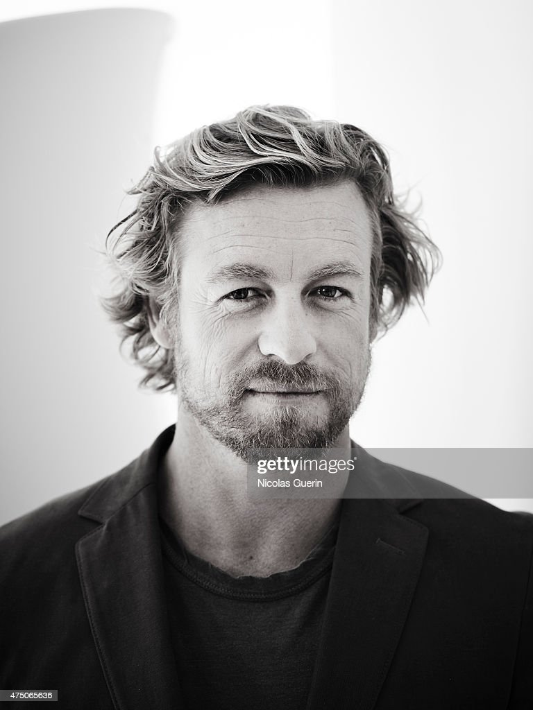 Actor <a gi-track='captionPersonalityLinkClicked' href=/galleries/search?phrase=Simon+Baker&family=editorial&specificpeople=206176 ng-click='$event.stopPropagation()'>Simon Baker</a> is photographed on May 15, 2015 in Cannes, France.
