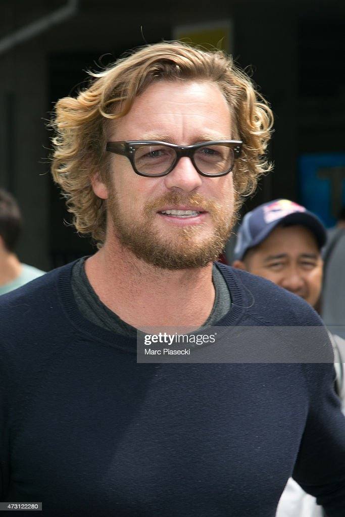 Actor Simon Baker is seen at Nice airport during the 68th annual Cannes Film Festival on May 13, 2015 in Cannes, France.