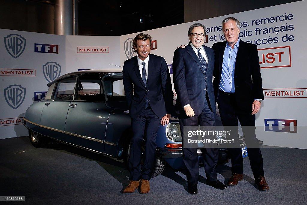 Simon Baker : Photocall At TF1 In Paris
