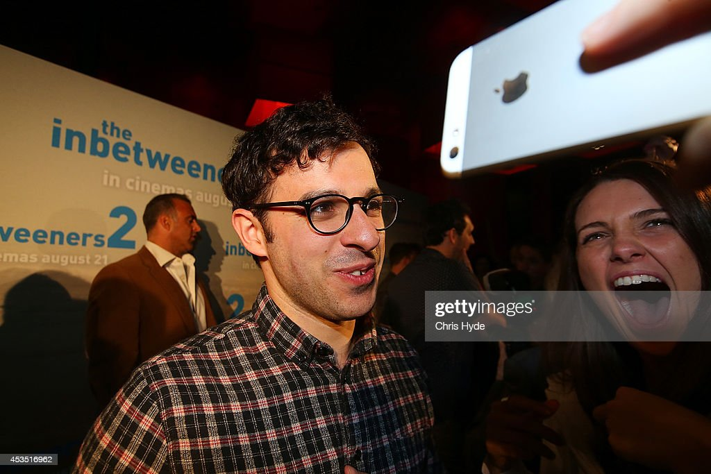 Actor Simon Bird arrives at the Queensland Premier of The Inbetweeners 2 at Event Cinemas, Robina on August 12, 2014 in Gold Coast, Australia. The Inbetweeners 2 will be released on 21 August 2014.