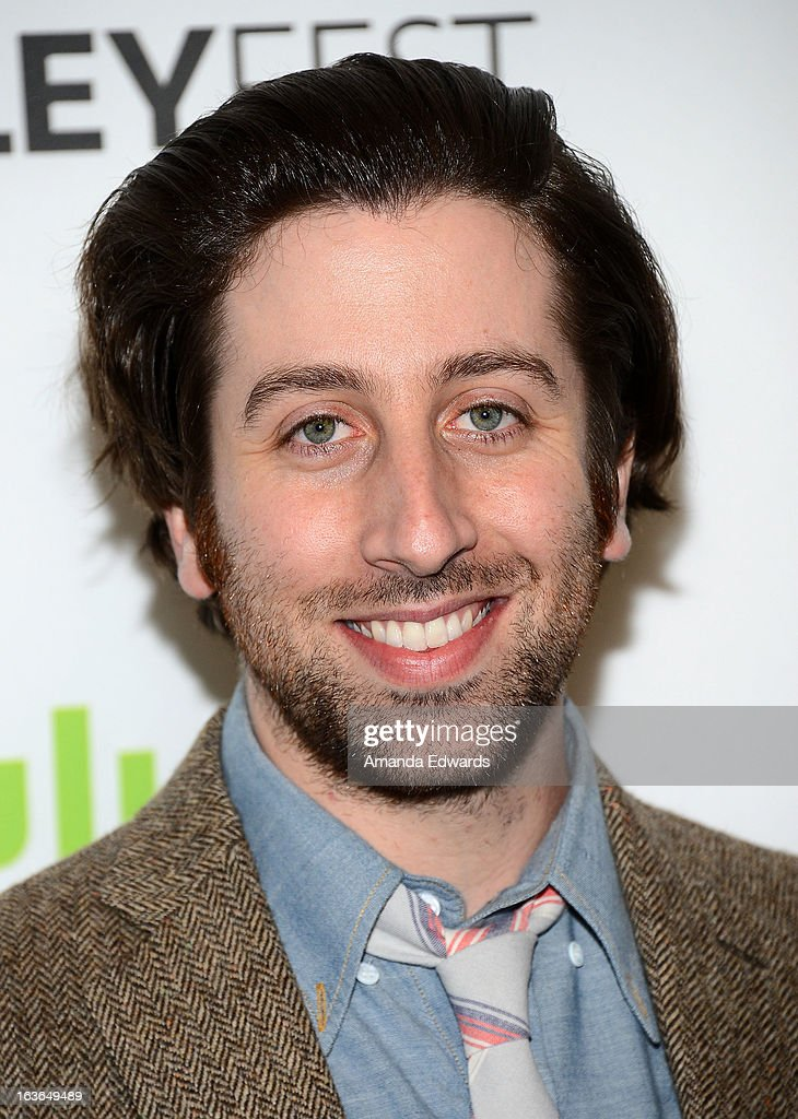 Actor <a gi-track='captionPersonalityLinkClicked' href=/galleries/search?phrase=Simon+Helberg&family=editorial&specificpeople=3215017 ng-click='$event.stopPropagation()'>Simon Helberg</a> arrives at the 30th Annual PaleyFest: The William S. Paley Television Festival featuring 'The Big Bang Theory' at the Saban Theatre on March 13, 2013 in Beverly Hills, California.