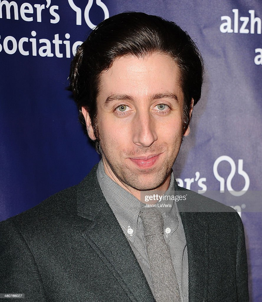 Actor Simon Helberg attends the 22nd 'A Night At Sardi's' at The Beverly Hilton Hotel on March 26, 2014 in Beverly Hills, California.
