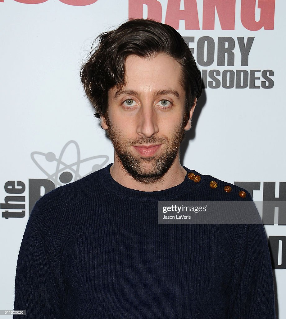 Actor Simon Helberg attends 'The Big Bang Theory' 200th episode celebration at Vibiana on February 20 2016 in Los Angeles California