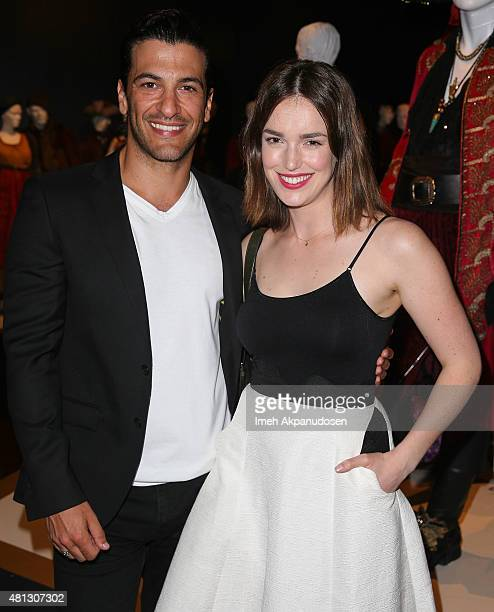 Actor Simon Kassianides and actress Elizabeth Henstridge attend the 9th Annual Outstanding Art of Television Costume Design Exhibition at FIDM Museum...