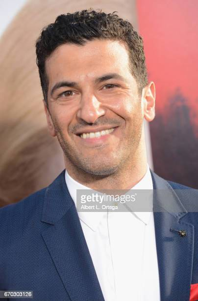 Actor Simon Kassianides arrives for the Premiere Of Warner Bros Pictures' 'Unforgettable' held at TCL Chinese Theatre on April 18 2017 in Hollywood...
