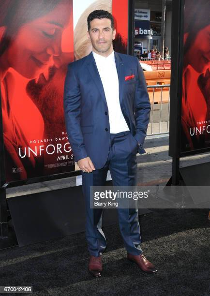 Actor Simon Kassianides attends premiere of Warner Bros Pictures' 'Unforgettable' at TCL Chinese Theatre on April 18 2017 in Hollywood California