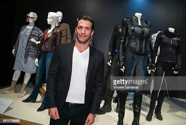 Actor Simon Kassianides attends the 9th Annual Outstanding Art Of Television Costume Design reception and exhibition media preview at FIDM Museum...