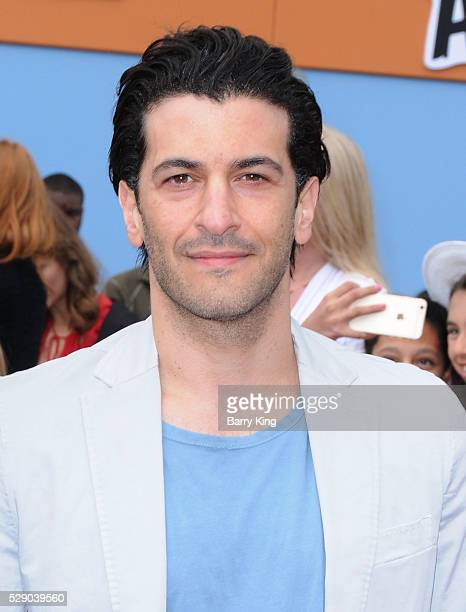 Actor Simon Kassianides attends the premiere of Sony Pictures' 'Angry Birds' at Regency Village Theatre on May 7 2016 in Westwood California