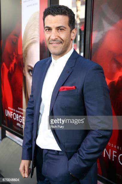 Actor Simon Kassianides attends the premiere of Warner Bros Pictures' 'Unforgettable' at TCL Chinese Theatre on April 18 2017 in Hollywood California