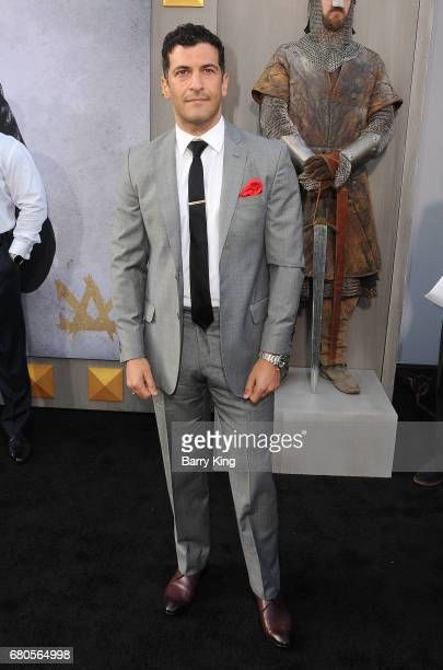 Actor Simon Kassianides attends world premiere of Warner Bros Pictures' 'King Arthur Legend Of The Sword' at TCL Chinese Theatre on May 8 2017 in...