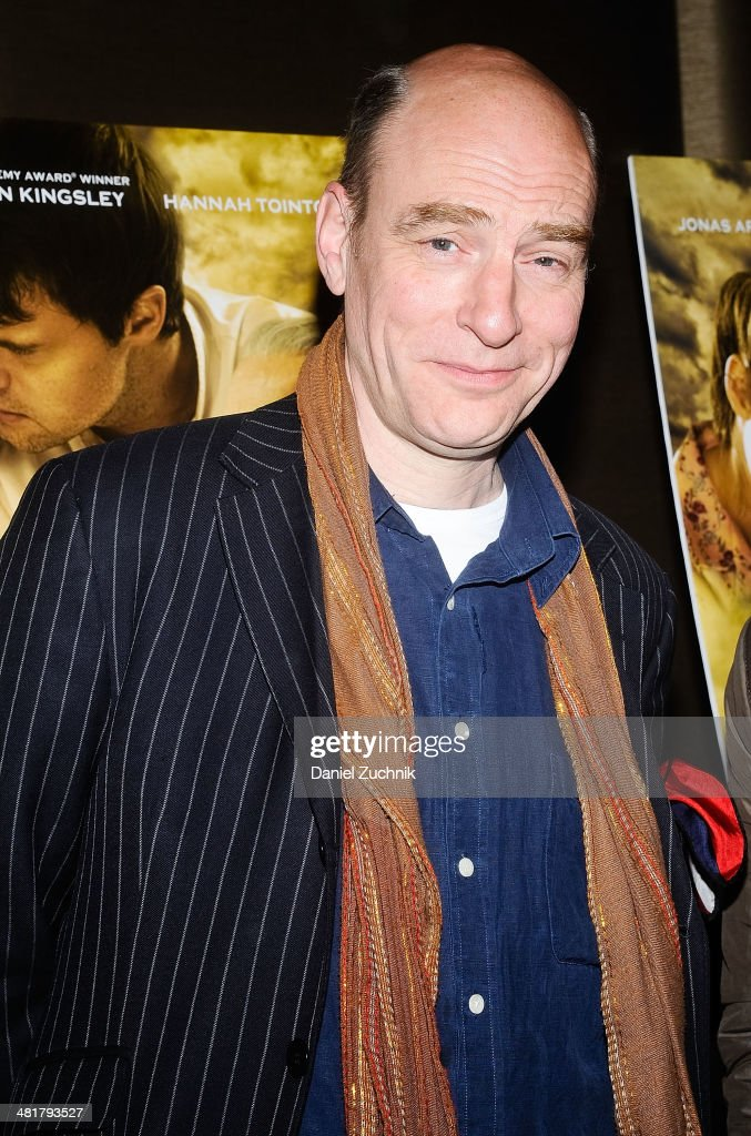 Actor Simon Kunz attends the 'Walking With The Enemy' screening at Dolby 88 Theater on March 31, 2014 in New York City.
