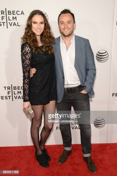 Actor Simon Lee Phillips attends Tribeca Talks After The Movie 'NOW In the Wings On A World Stage' during the 2014 Tribeca Film Festival at BMCC...