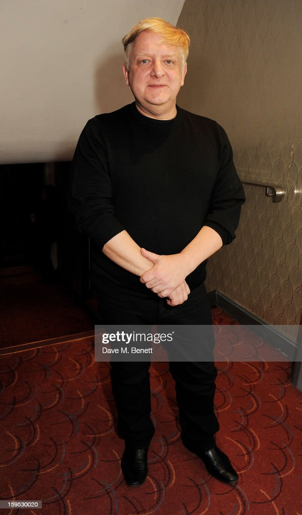 Actor Simon Russell Beale attends the 2013 Critics' Circle Theatre Awards at the Prince Of Wales Theatre on January 15, 2013 in London, England.