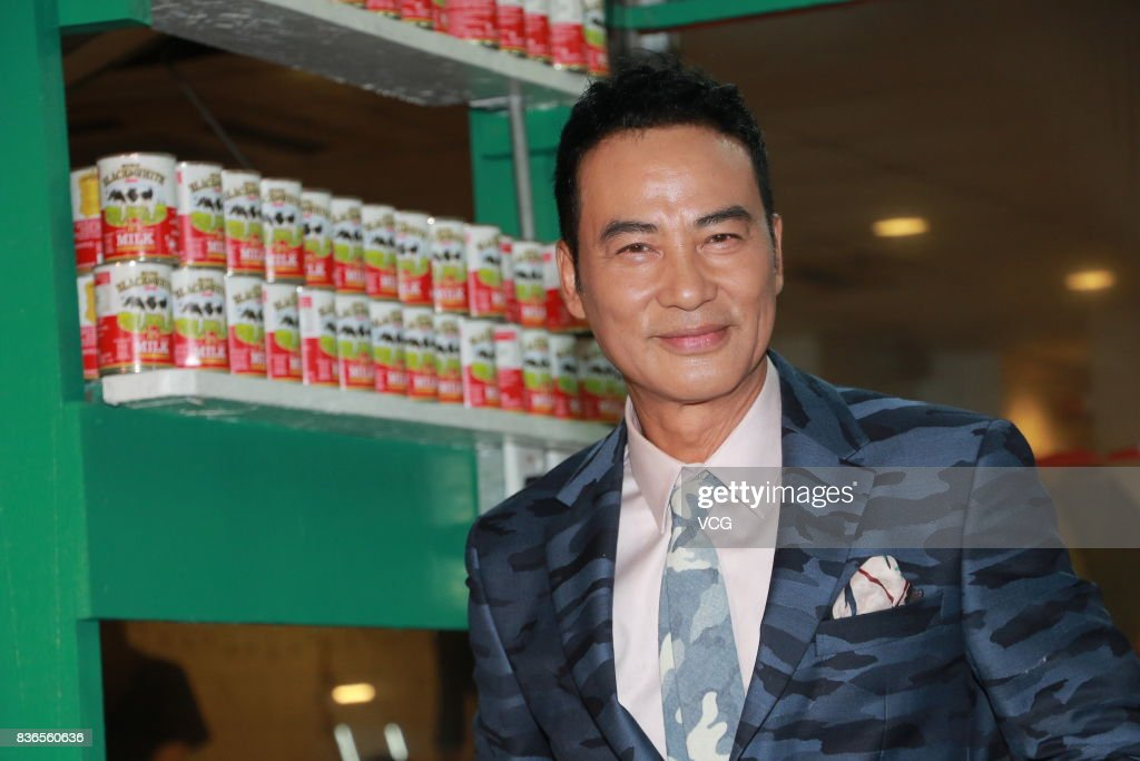 Carina Lau And Simon Yam Attend Movie Shooting In Hong Kong