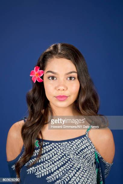 Actor singer Aulii Cravalho photographed for NY Daily News on September 27 in New York City