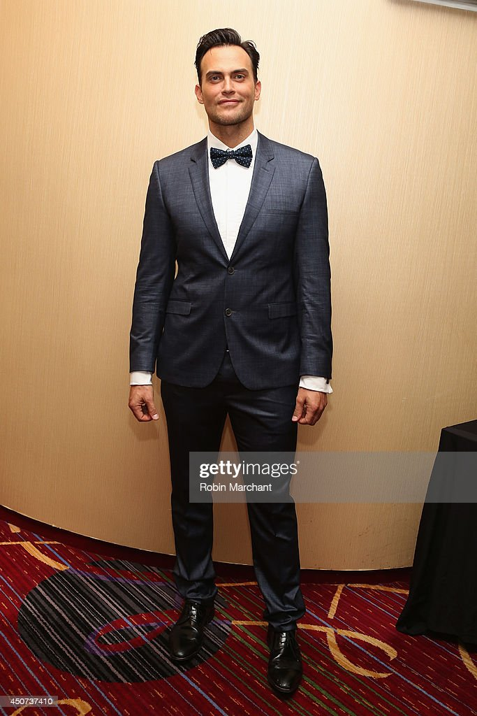 Actor Singer Cheyenne Jackson attends the Trevor Project's 2014 'TrevorLIVE NY' Event at the Marriott Marquis Hotel on June 16 2014 in New York City
