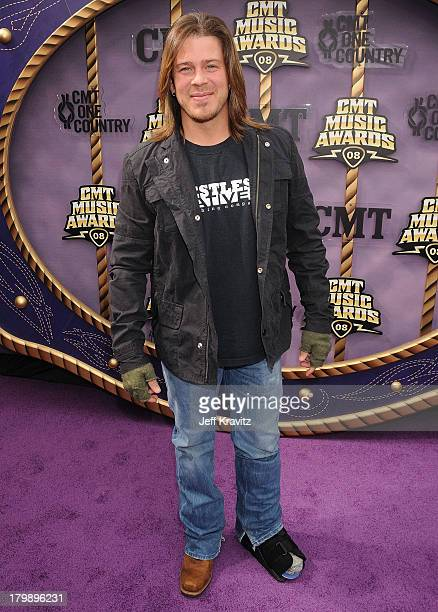 Actor / singer Christian Kane attends the 2008 CMT Music Awards at the Curb Events Center at Belmont University on April 14 2008 in Nashville...