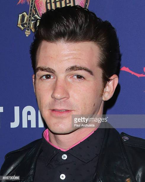 Actor / Singer Drake Bell attends Just Jared's Homecoming Dance at the El Rey Theatre on November 20 2014 in Los Angeles California