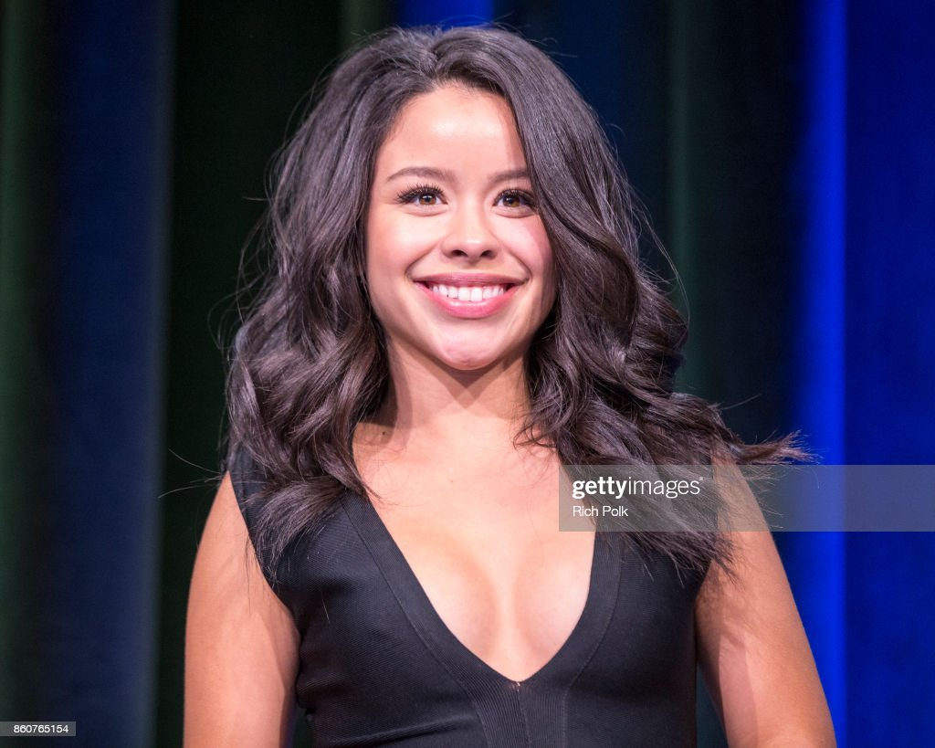 Actor, Singer, Model and host, Cierra Ramirez on stage at Google CS+X Series: Dress Code at Google Los Angeles Office on October 12, 2017 in Venice, California.