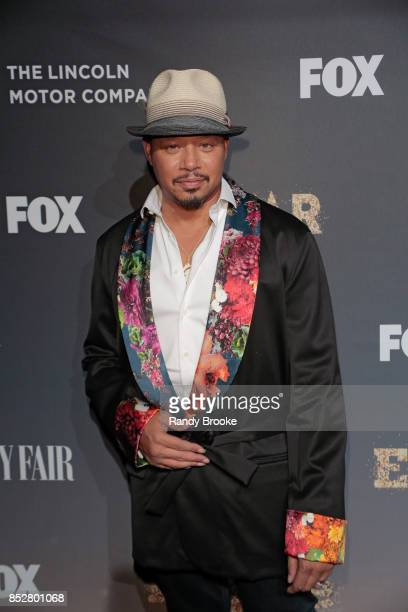 Actor singersongwriter and record producer Terrence Howard poses on the red carpet during the 'Empire' 'Star' Celebrate FOX's New Wednesday Night at...
