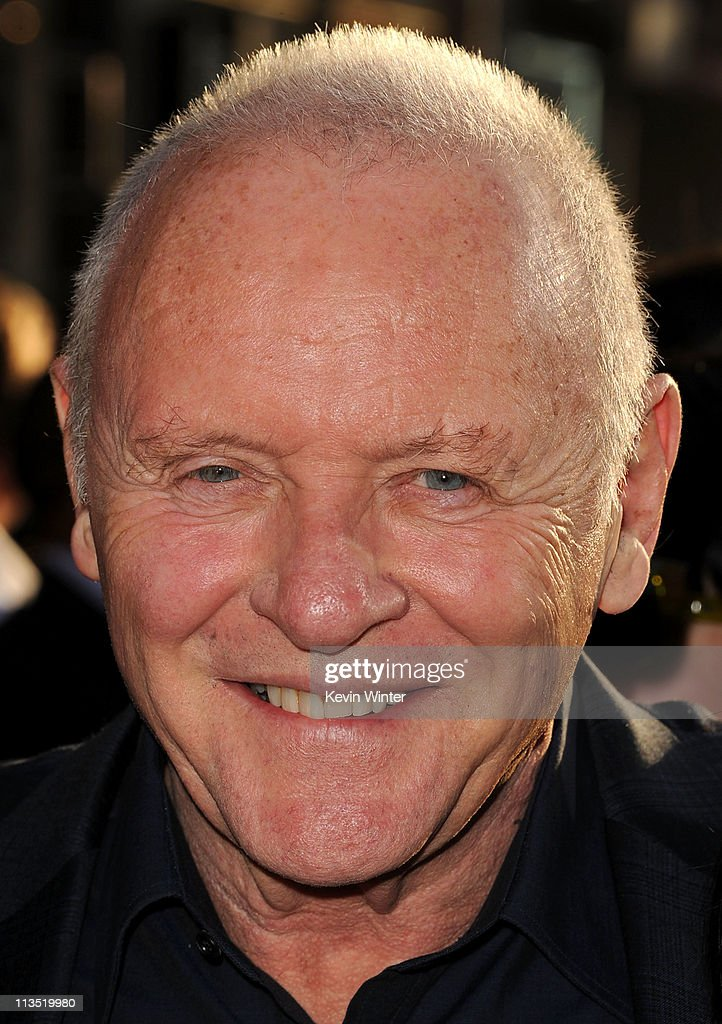 Actor Sir Anthony Hopkins arrives at the premiere of Paramount Pictures' and Marvel's 'Thor' held at the El Capitan Theatre on May 2, 2011 in Los Angeles, California.