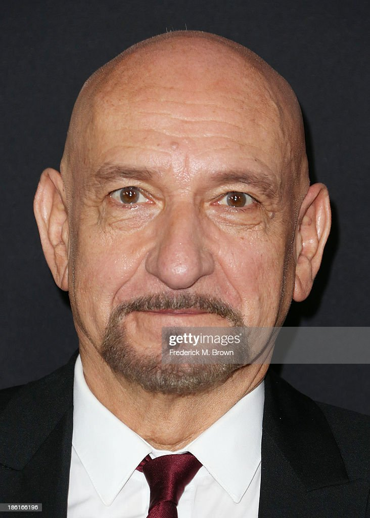 Actor Sir Ben Kingsley attends the Premiere of Summit Entertainment's 'Ender's Game' at the TCL Chinese Theatre on October 28 2013 in Hollywood...