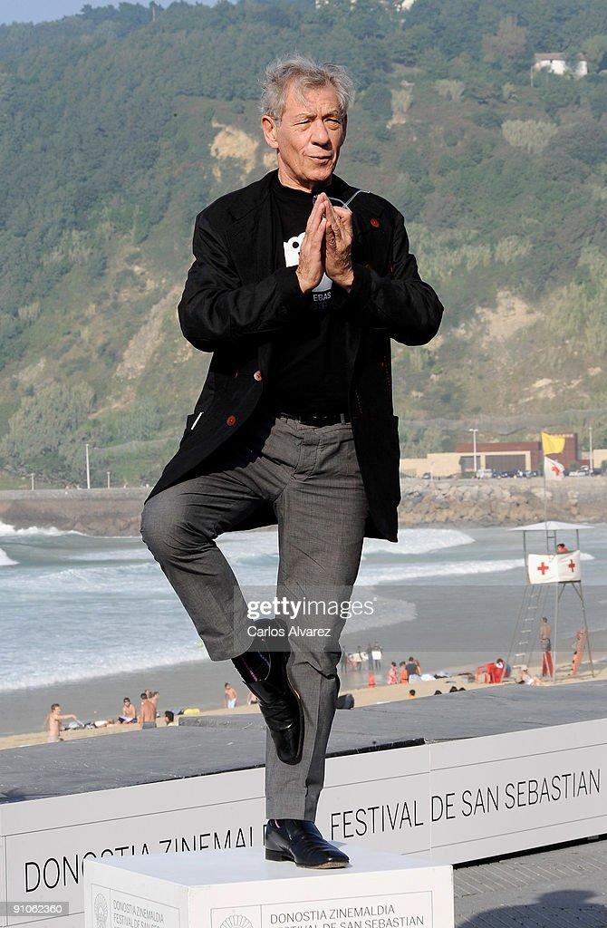 Sir Ian McKellen receives the Donostia Award - Photocall