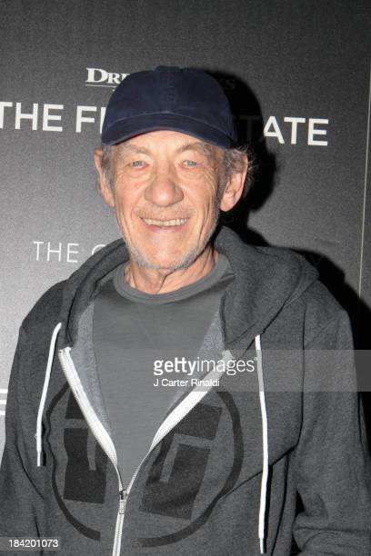 Actor Sir Ian McKellen attends The Cinema Society with Vanity Fair Richard Mille screening of DreamWorks Pictures' 'The Fifth Estate' at Crosby...