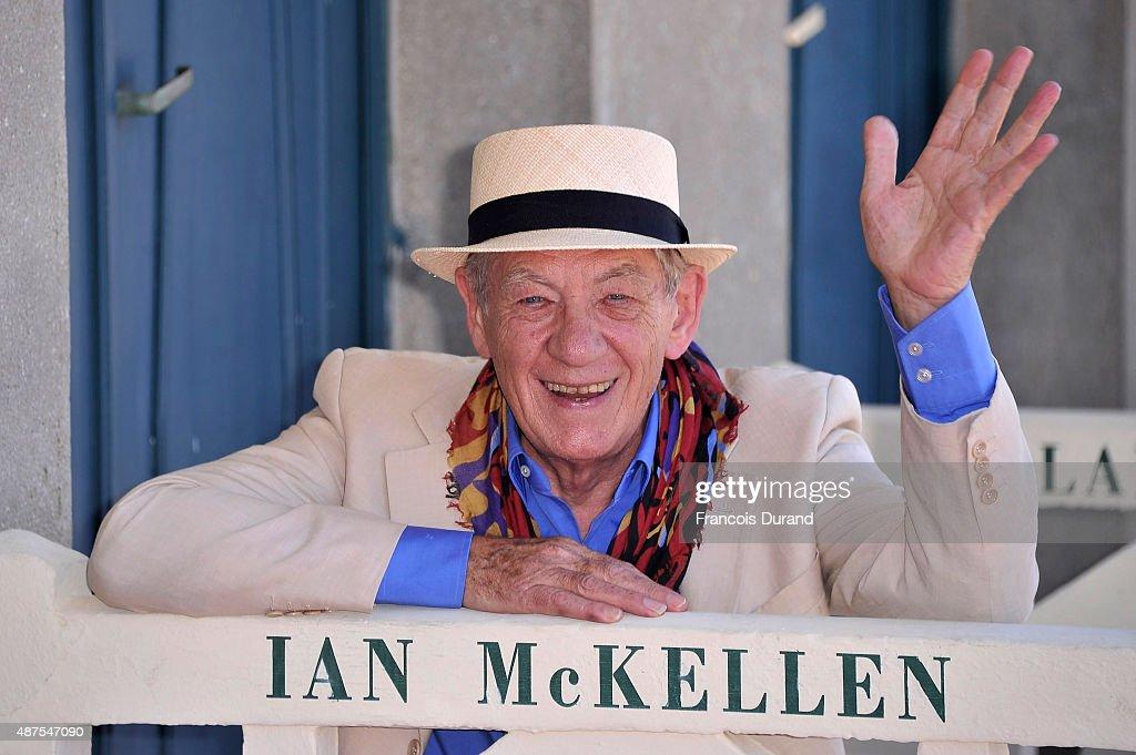 'Ian McKellen' Photocall - 41st Deauville American Film Festival
