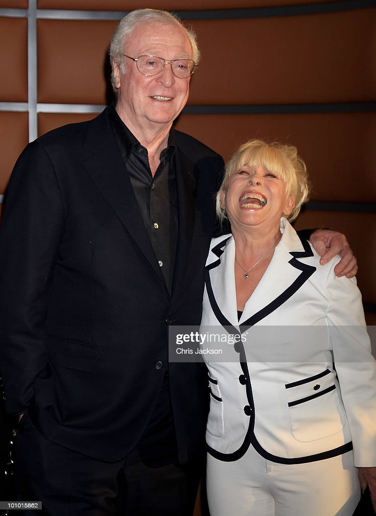 Actor Sir Michael Caine and Barbara Windsor attend The Galleries of Modern London launch party at the Museum of London on May 27, 2010 in London, England.