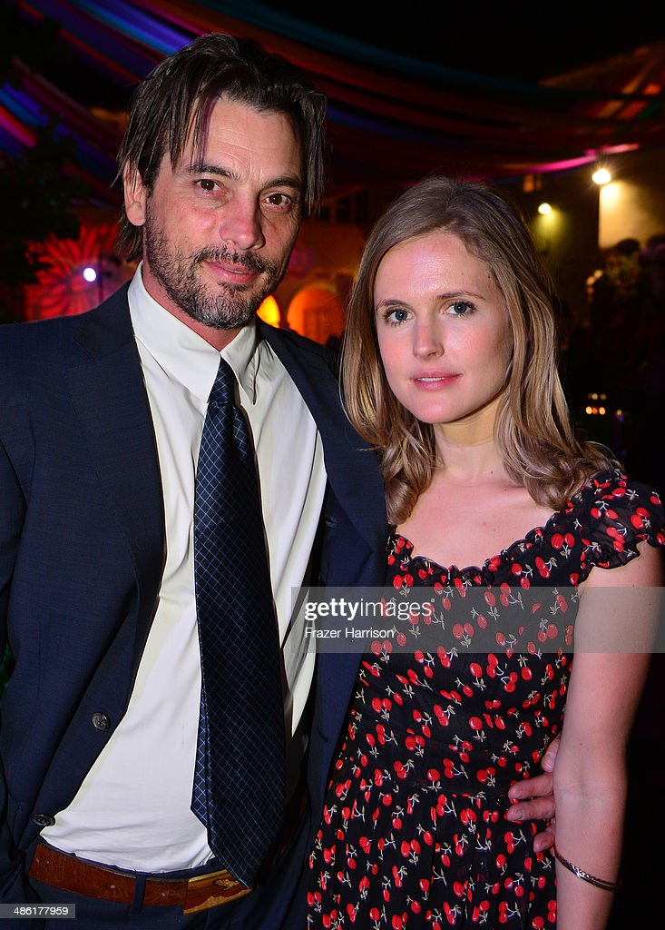 Actor <a gi-track='captionPersonalityLinkClicked' href=/galleries/search?phrase=Skeet+Ulrich&family=editorial&specificpeople=633089 ng-click='$event.stopPropagation()'>Skeet Ulrich</a> (L) and Amelia Jackson-Gray attend the 8th Annual BritWeek Launch Party at a private residence on April 22, 2014 in Los Angeles, California.