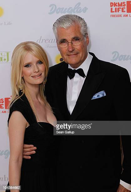 Actor Sky Du Mont and his wife Mirja Du Mont attend the Dreamball 2010 charity gala at the Grand Hyatt hotel on September 23 2010 in Berlin Germany