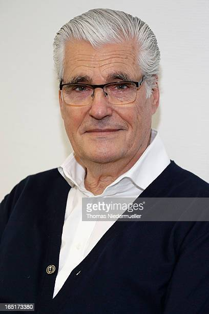 Actor Sky du Mont poses prior to the musical premiere 'Yakary Freunde fuers Leben' at Hegelsaal on April 1 2013 in Stuttgart Germany