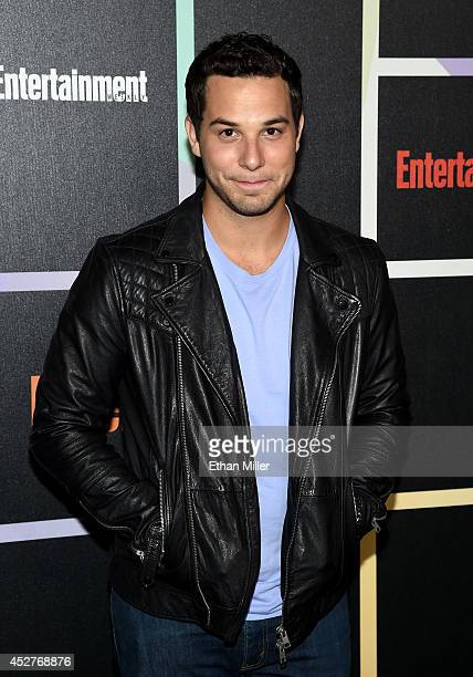 Actor Skylar Astin attends Entertainment Weekly's annual ComicCon celebration at Float at Hard Rock Hotel San Diego on July 26 2014 in San Diego...