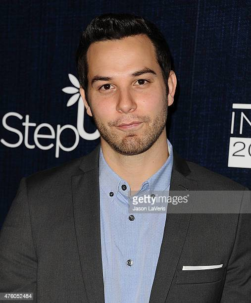 Actor Skylar Astin attends the 12th annual Inspiration Awards to benefit Step Up at The Beverly Hilton Hotel on June 5 2015 in Beverly Hills...