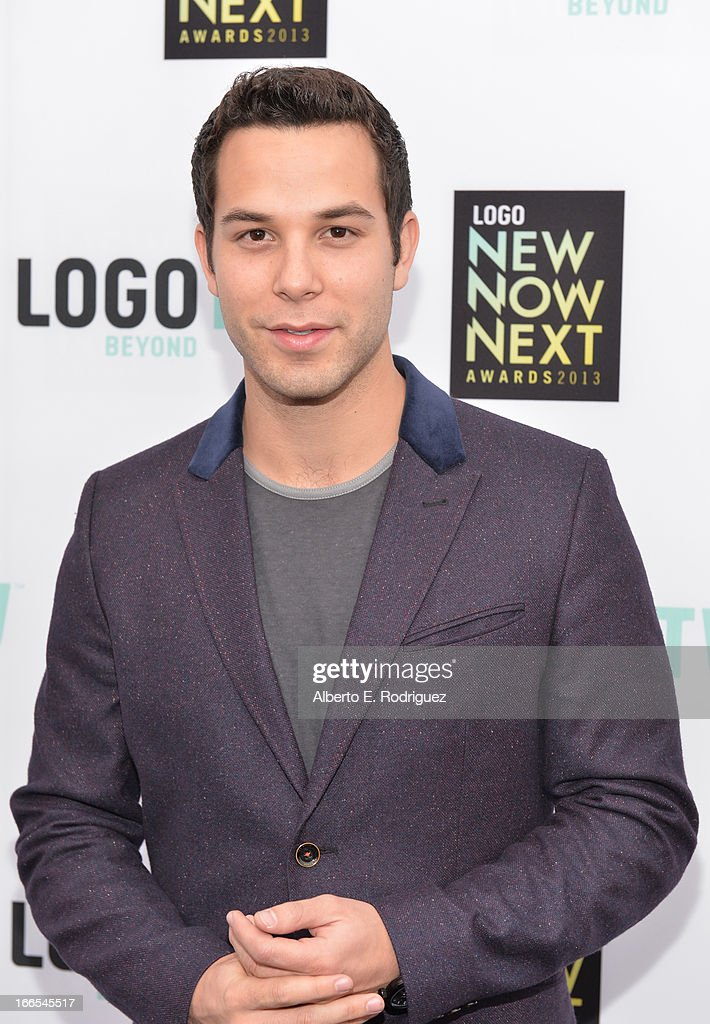 Actor <a gi-track='captionPersonalityLinkClicked' href=/galleries/search?phrase=Skylar+Astin&family=editorial&specificpeople=4463360 ng-click='$event.stopPropagation()'>Skylar Astin</a> attends the 2013 NewNowNext Awards at The Fonda Theatre on April 13, 2013 in Los Angeles, California.