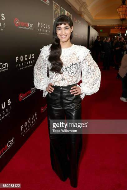 Actor Sofia Boutella at CinemaCon 2017 Focus Features Celebrating 15 Years and a Bright Future at Caesars Palace during CinemaCon the official...