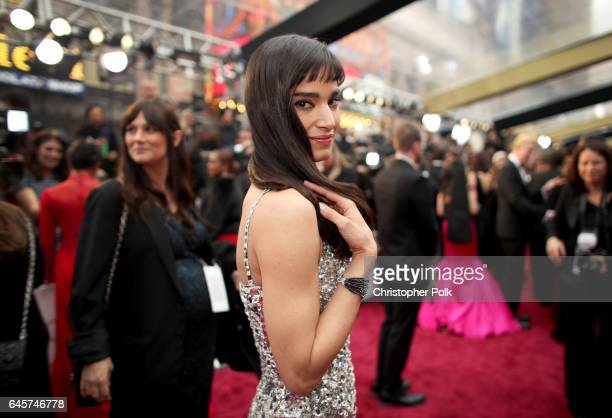 Actor Sofia Boutella attends the 89th Annual Academy Awards at Hollywood Highland Center on February 26 2017 in Hollywood California