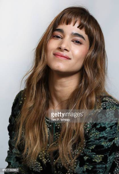 Actor Sofia Boutella from the cast of The Mummy poses for a photo at the Build LDN event at AOL London on June 1 2017 in London England