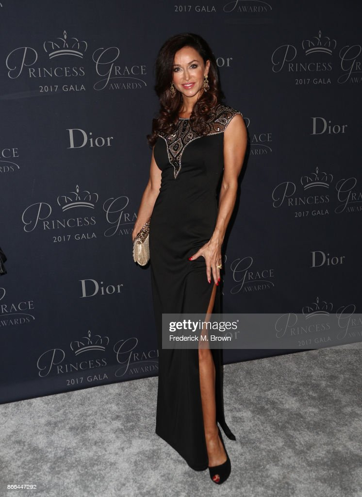 Actor Sofia Milos attends 2017 Princess Grace Awards Gala at The Beverly Hilton Hotel on October 25, 2017 in Beverly Hills, California.