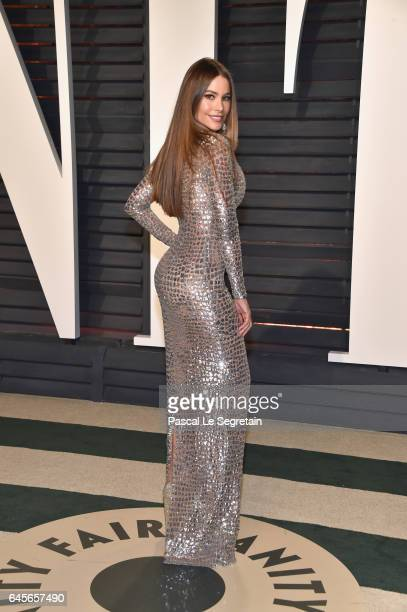 Actor Sofia Vergara attends the 2017 Vanity Fair Oscar Party hosted by Graydon Carter at Wallis Annenberg Center for the Performing Arts on February...